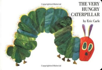 The very hungry Caterpillar 英語絵本