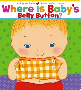 Where is baby's Belly Button? 英語絵本